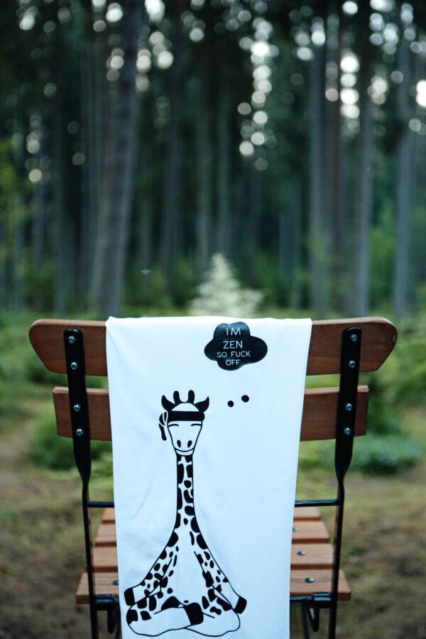 Black Giraffe zen t särk