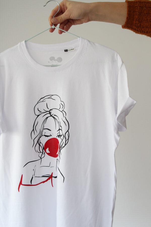 Black GIraffe red girl 2